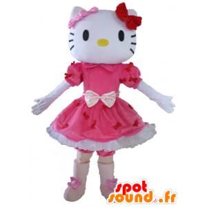 Mascot Hello Kitty, den berømte japanske tegneserie katt