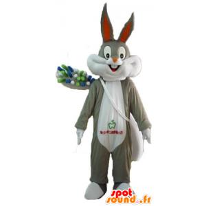 Mascotte de Bugs Bunny avec une brosse à dents géante - MASFR23404 - Mascottes Bugs Bunny