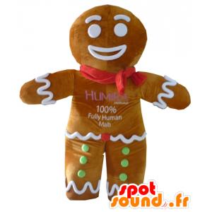 Ti cookie maskot, slavný perník v Shrek - MASFR23410 - Shrek Maskoti