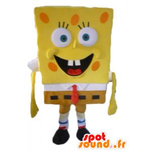 スポンジボブのマスコット、黄色の漫画のキャラクター-MASFR23413-スポンジボブのマスコット