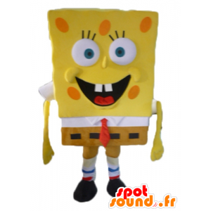 Maskot SpongeBob, žlutá kreslená postavička - MASFR23413 - Bob houba Maskoti