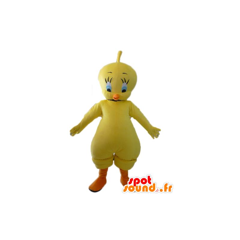 Mascotte de Titi, célèbre canari jaune des Looney Tunes - MASFR23414 - Mascottes TiTi et Grosminet
