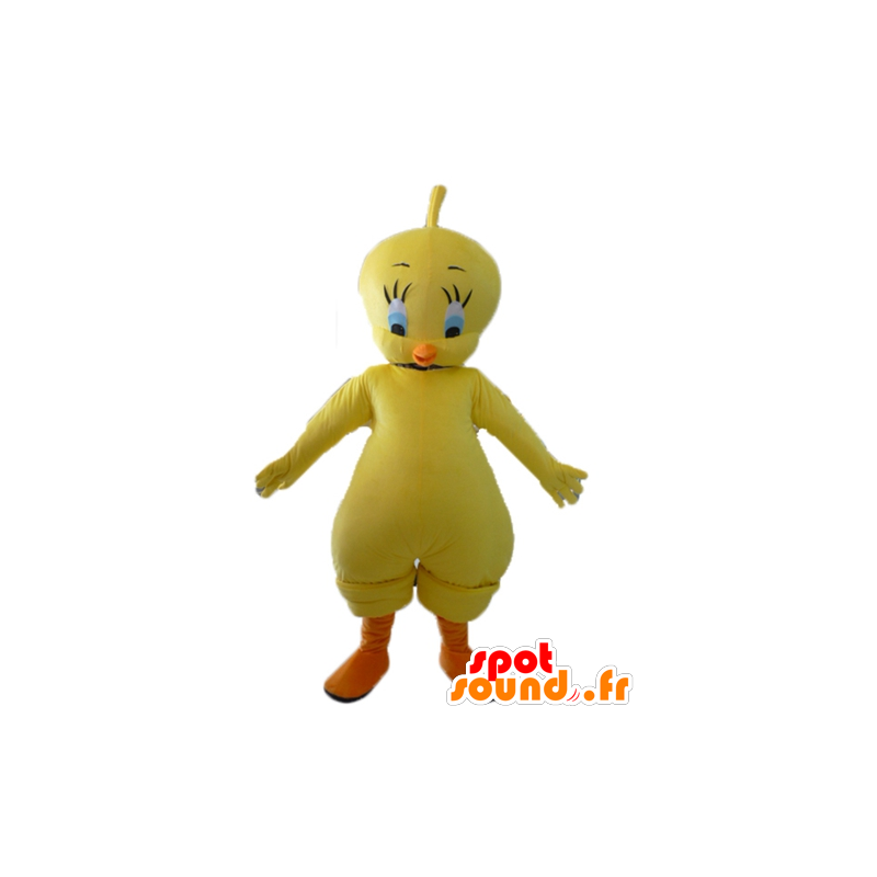 Titi mascot, famous canary yellow Looney Tunes - MASFR23414 - Mascots Tweety and Sylvester
