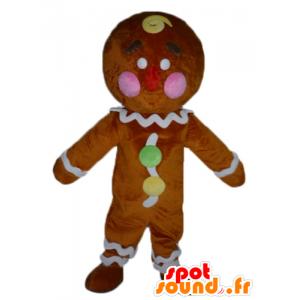 Ti mascote biscoito, famoso pão de gengibre em Shrek