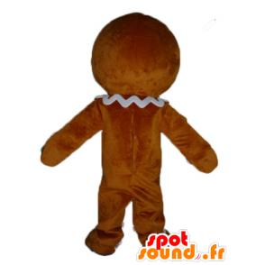 Ti Cookie Maskottchen berühmten Lebkuchen in Shrek - MASFR23417 - Maskottchen Shrek