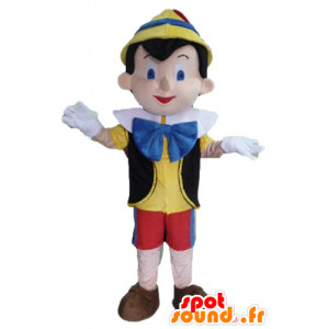 Maskotka Pinokia, słynna postać z kreskówki - MASFR23423 - maskotki Pinokio