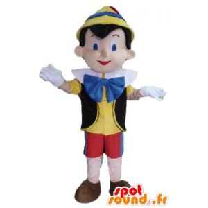 Pinocchio mascotte, famoso personaggio dei fumetti
