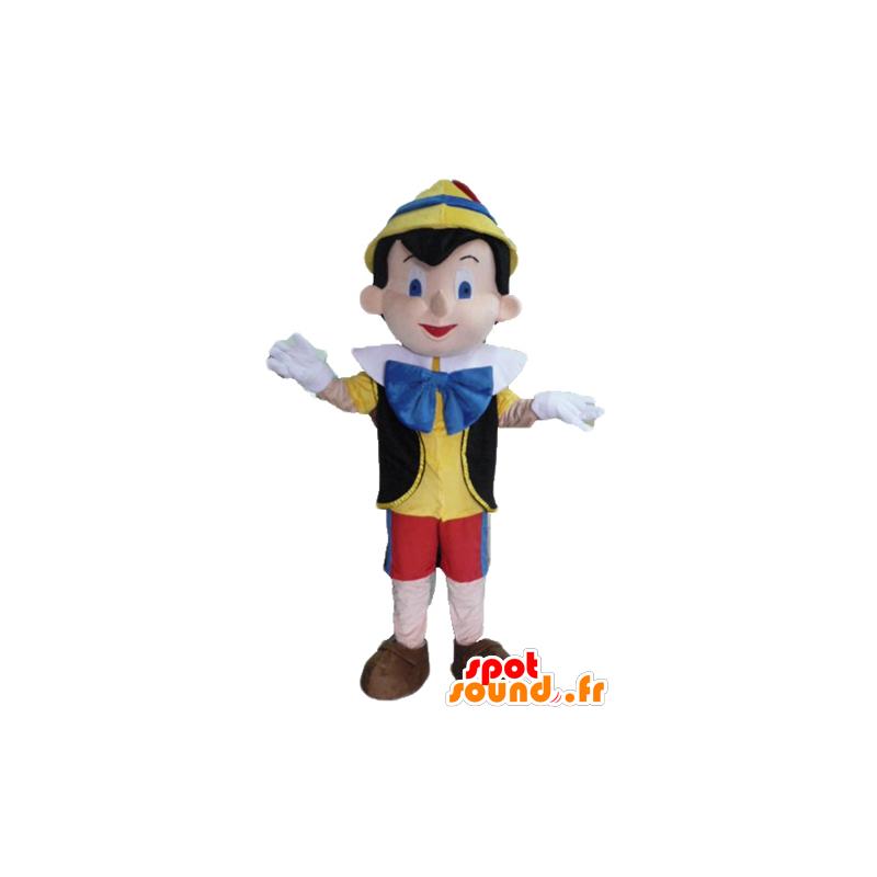 Mascotte de Pinocchio, célèbre personnage de dessin animé - MASFR23423 - Mascottes Pinocchio