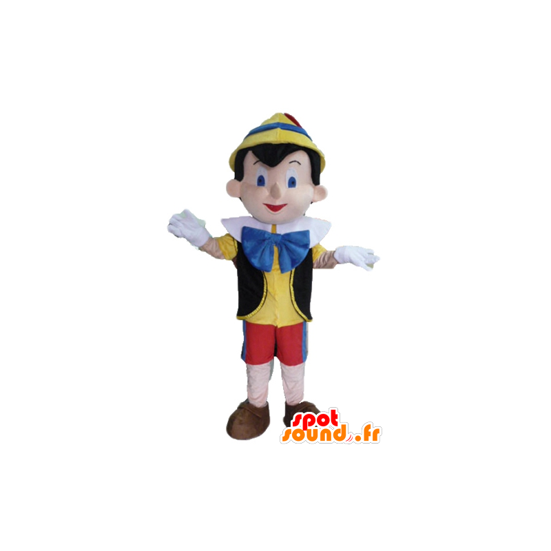 Pinocchio mascot, famous cartoon character - MASFR23423 - Mascots Pinocchio