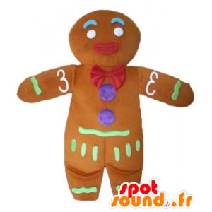 Ti cookie maskot, kjent pepperkaker i Shrek - MASFR23438 - Shrek Maskoter