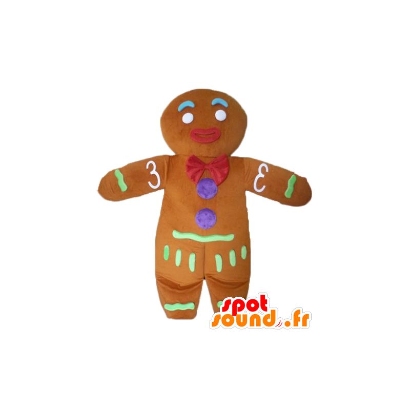 Mascotte de Ti biscuit, célèbre pain d'épices dans Shrek - MASFR23438 - Mascottes Shrek
