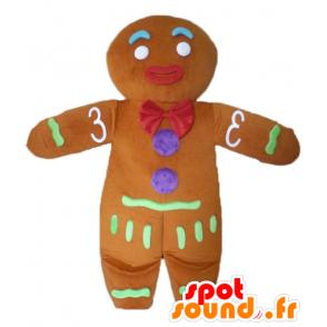 Ti cookie mascot, famous gingerbread in Shrek - MASFR23438 - Mascots Shrek