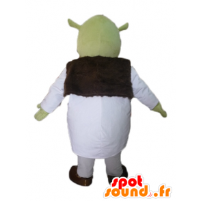 Shrek mascot, the famous green ogre cartoon - MASFR23441 - Mascots Shrek
