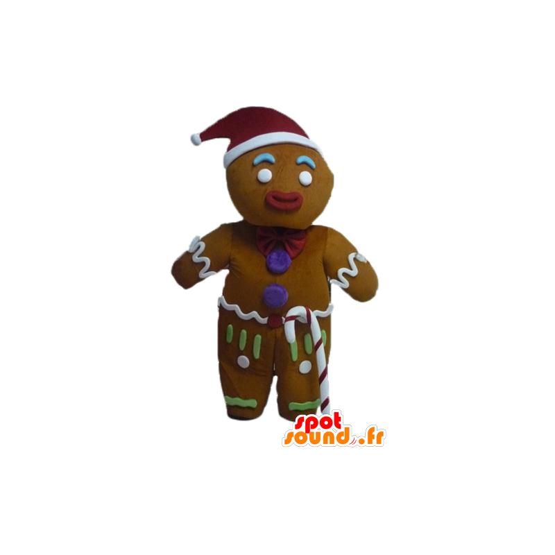 Ti koekje mascotte, beroemde peperkoek in Shrek - MASFR23443 - Shrek Mascottes