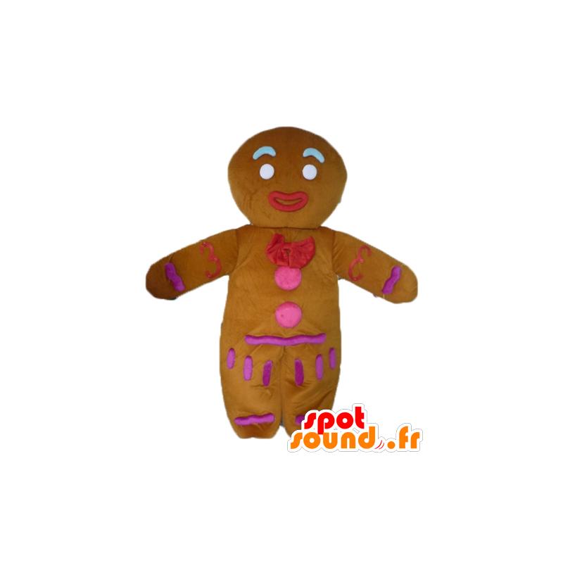 Ti μπισκότο μασκότ, διάσημη μελόψωμο στο Shrek - MASFR23447 - Σρεκ Μασκότ