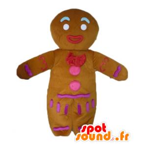 Mascotte de Ti biscuit, célèbre pain d'épices dans Shrek - MASFR23447 - Mascottes Shrek
