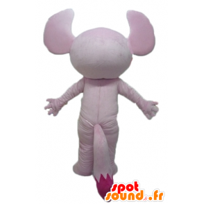 Mascot pink koala, pink squirrel - MASFR23451 - Mascots squirrel