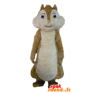 Brown squirrel mascot, Alvin and the Chipmunks