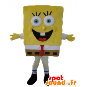 SpongeBob mascot, yellow cartoon character - MASFR23471 - Mascots Sponge Bob