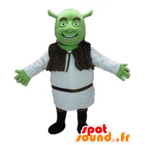 Mascot Shrek, den berømte grønne trollet tegneserie