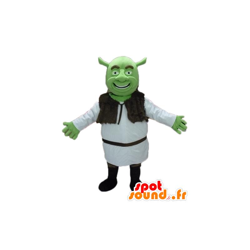 Mascotte de Shrek, le célèbre ogre vert de dessin animé - MASFR23476 - Mascottes Shrek
