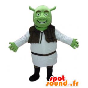 Shrek Maskottchen, das berühmte grüne Oger cartoon - MASFR23476 - Maskottchen Shrek