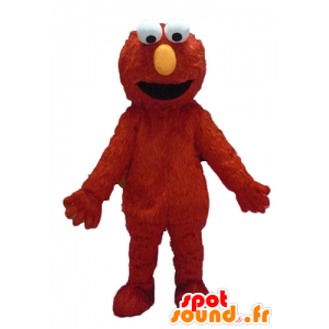 Elmo maskot, marionet, rødt monster - Spotsound maskot kostume