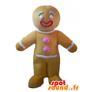 Ti cookie maskot, kjent pepperkaker i Shrek - MASFR23505 - Shrek Maskoter