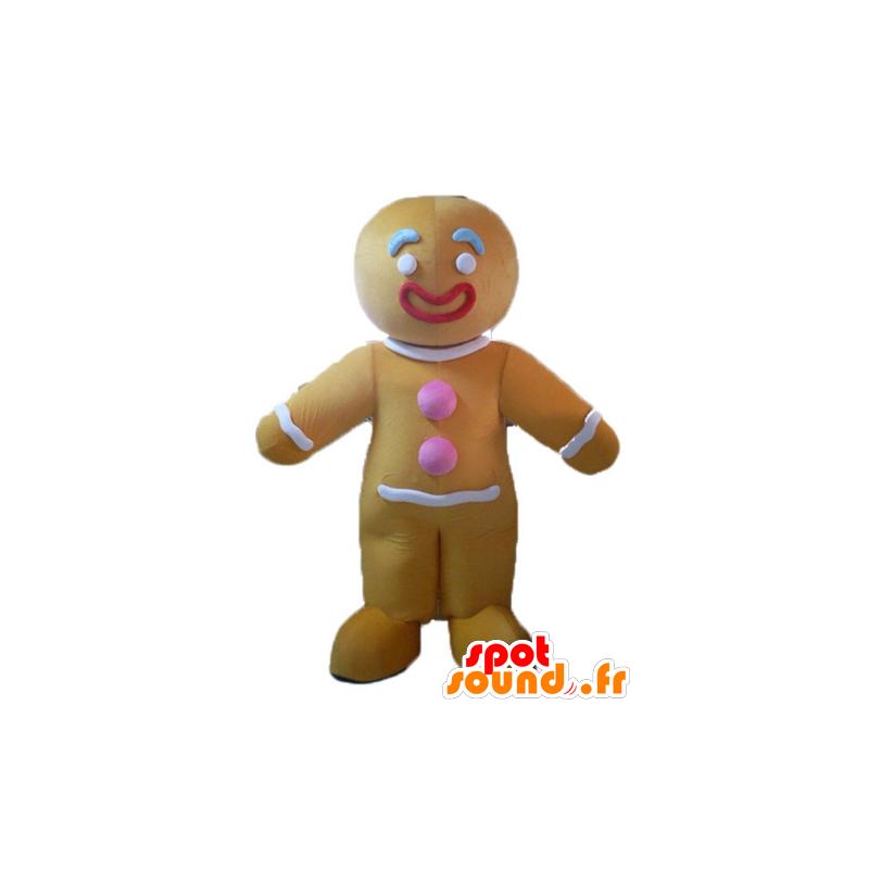 Mascotte de Ti biscuit, célèbre pain d'épices dans Shrek - MASFR23505 - Mascottes Shrek