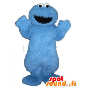 Mascot blue monster Grover, Sesame Street - MASFR23509 - Monsters mascots