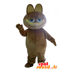 Garfield maskot, berømt tegneserie katt