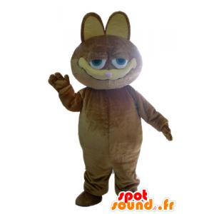 Garfield maskot, berømt tegneseriekat - Spotsound maskot kostume