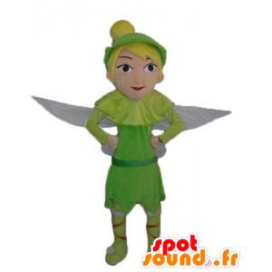 Mascot Tinkerbell, diseño vibrante de Peter Pan