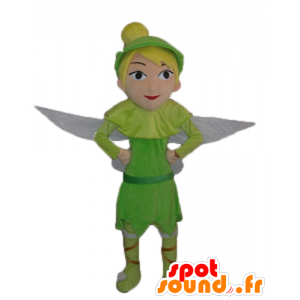 Maskot Tinkerbell, Peter Pan je rušný výkres