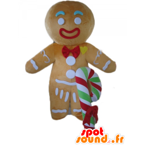 Ti cookie maskot, kjent pepperkaker i Shrek
