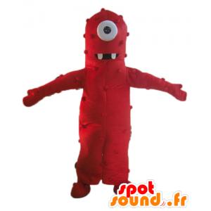Mascot ciclopi alieni, gigante rossa e divertente - MASFR23546 - Mascotte non classificati