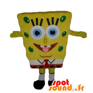 Maskotti Paavo, keltainen sarjakuvahahmo - MASFR23549 - Bob sienellä Maskotteja