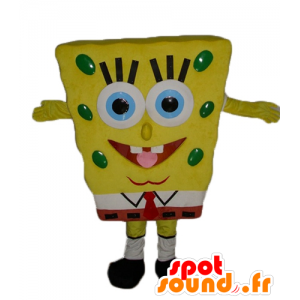 SpongeBob mascot, yellow cartoon character - MASFR23549 - Mascots Sponge Bob