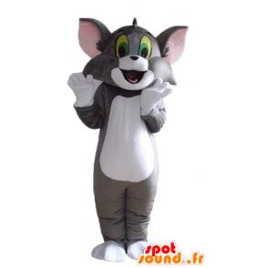 Tom maskot, de berømte grå og hvit katt Looney Tunes - MASFR23551 - Mascottes Tom and Jerry