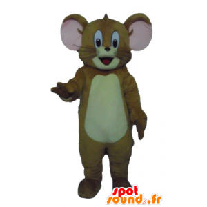Jerry mascot, the famous brown mouse Looney Tunes - MASFR23552 - Mascots Tom and Jerry