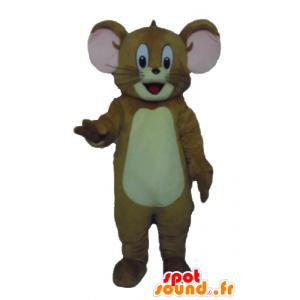 Maskot av Jerry, den berömda bruna musen från Looney Tunes -