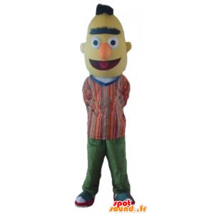 Mascotte de Bart, la célèbre marionnette jaune de Rue Sésame - MASFR23560 - Mascottes 1 rue sesame Elmo