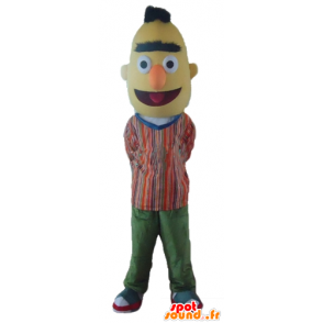 Mascotte Bart, the famous yellow Sesame Street puppet - MASFR23560 - Mascots 1 Elmo sesame Street