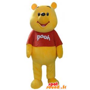 Mascotte de Winnie l'ourson, célèbre ours jaune de dessin animé - MASFR23585 - Mascottes Winnie l'ourson