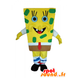 SpongeBob mascot, yellow cartoon character - MASFR23598 - Mascots Sponge Bob