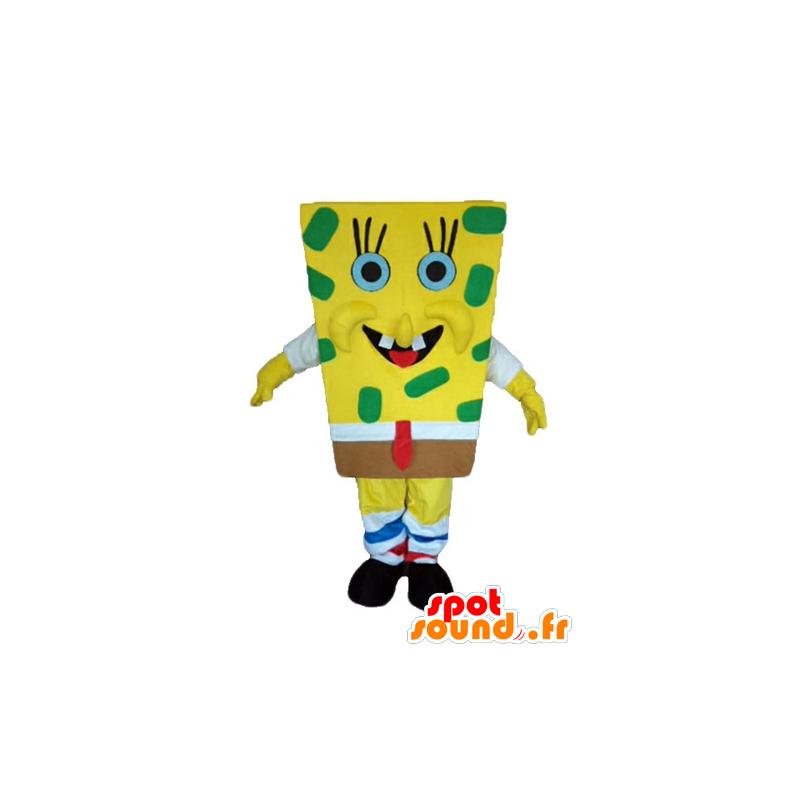 SpongeBob mascot, yellow cartoon character - MASFR23598 - Mascots Sponge Bob