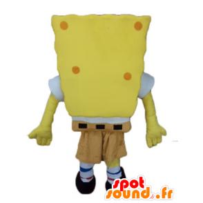 SpongeBob mascot, yellow cartoon character - MASFR23599 - Mascots Sponge Bob