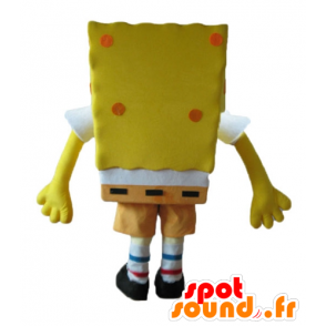 SpongeBob mascot, yellow cartoon character - MASFR23600 - Mascots Sponge Bob