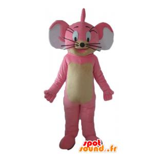 Maskot av Jerry, den berömda musen från Looney Tunes -