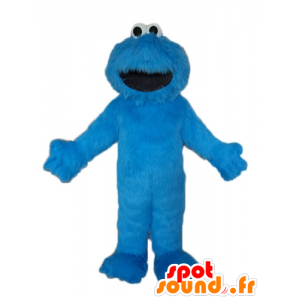 Elmo maskot, berømte Blue Sesame Street dukketeater